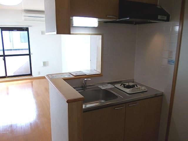 エスポワール参番館 03010号室のキッチン