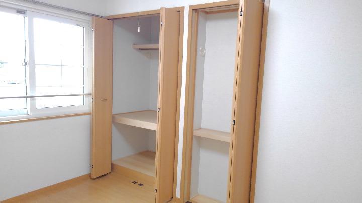 サニー・K 02030号室の収納