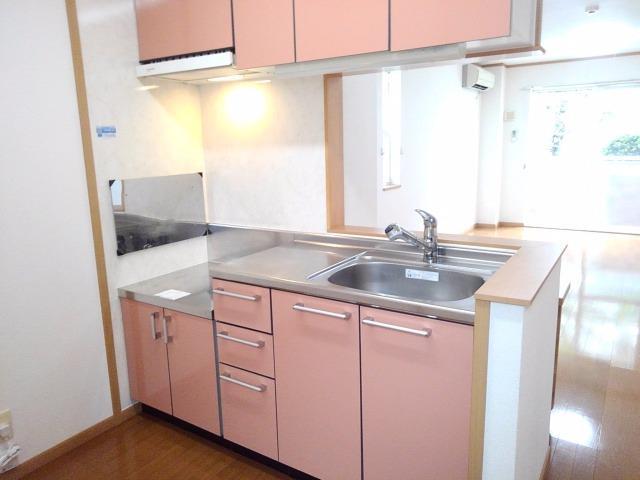 サンパティーク 01040号室のキッチン