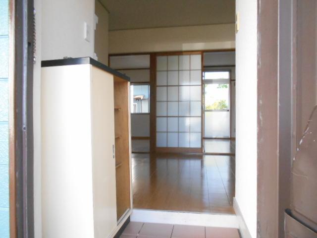 仁科ハイツB 01020号室の玄関