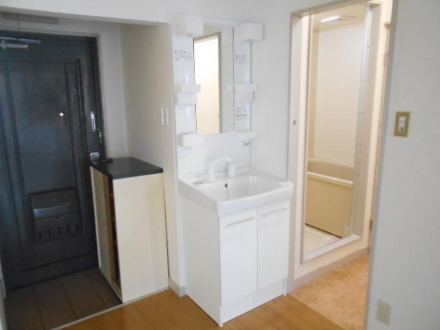 仁科ハイツB 01020号室の洗面所