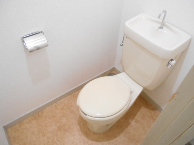 仁科ハイツB 01020号室のトイレ