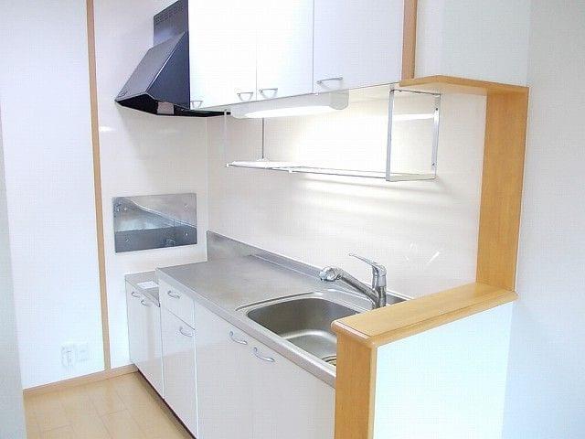 アンプリアル 02040号室のキッチン