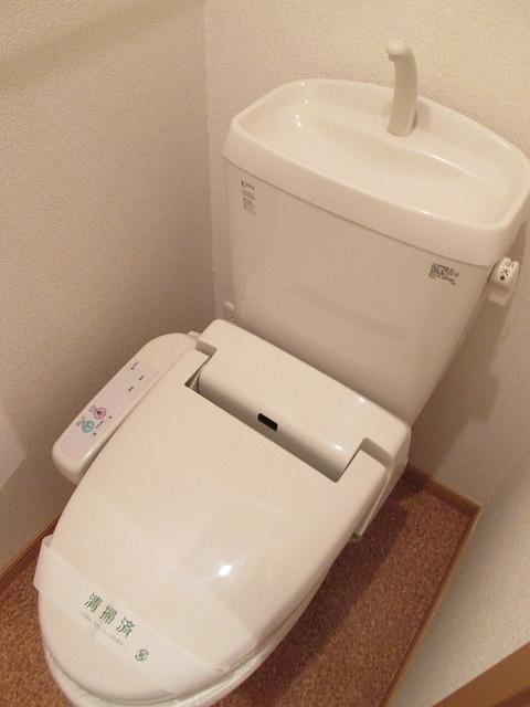 アンプリアル 02040号室のトイレ