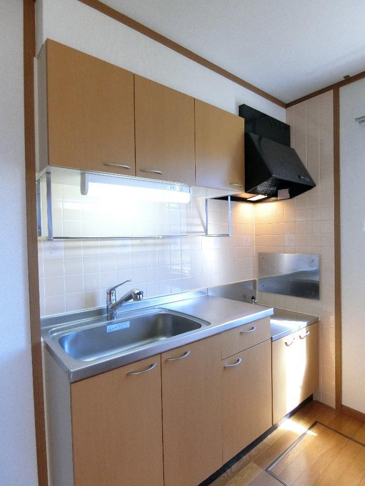 クレストルnoguchi 01030号室のキッチン