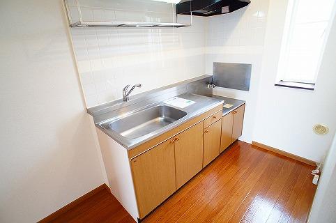 シャン・ロジュマン 02040号室のキッチン
