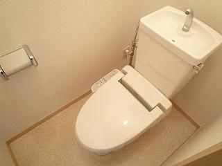 ドリ-ム KⅡ 01010号室のトイレ