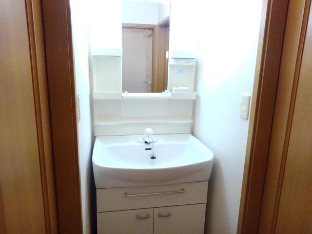 サン ローズ 02010号室の洗面所