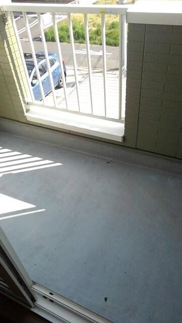 パストラルコ-トⅡ番館 02020号室のバルコニー