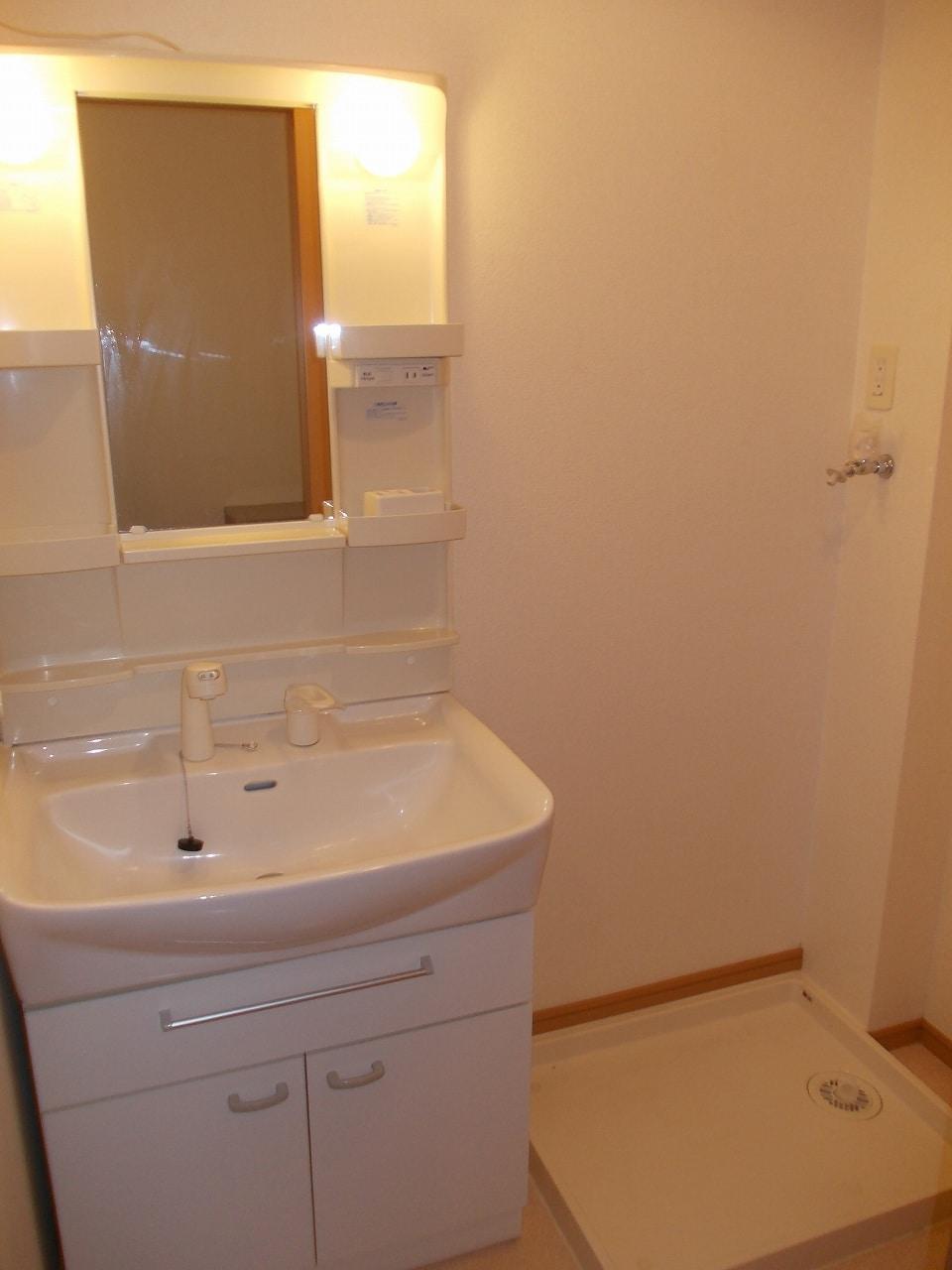 グッドヒル 01030号室の洗面所