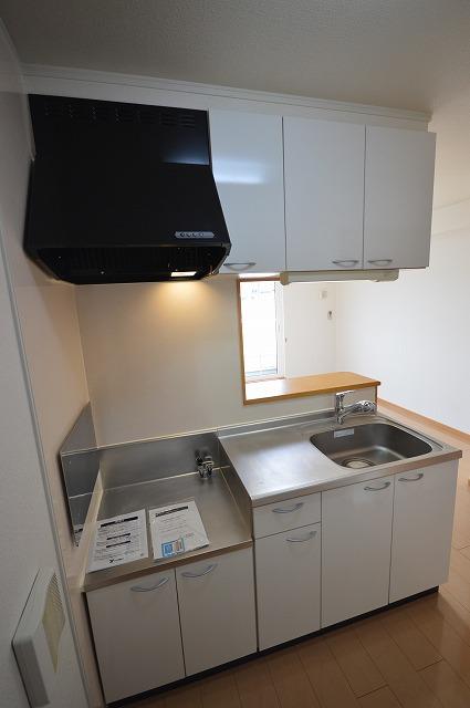 ルームハウスSUN 02010号室のキッチン