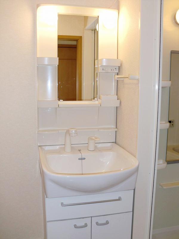 PURE CITY 梅田B 02030号室の洗面所