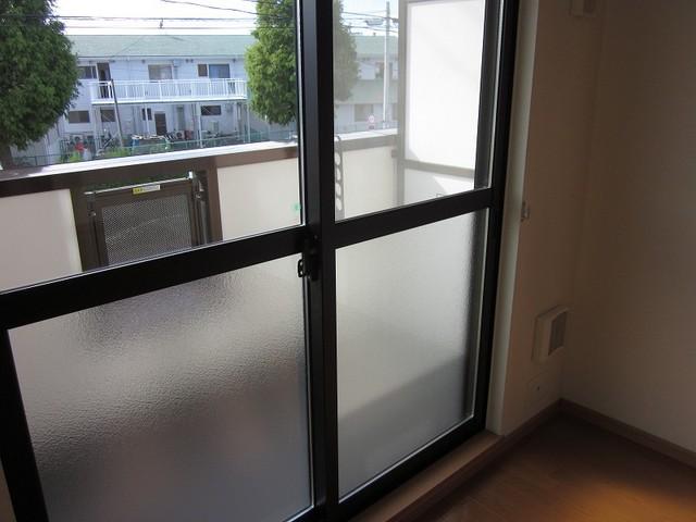 PURE CITY 梅田B 02030号室のバルコニー
