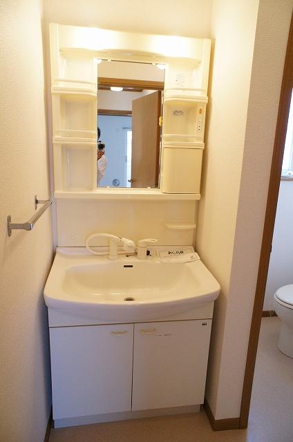 ペーシュ・ド・フルール 02020号室の洗面所