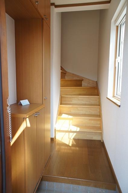 ペーシュ・ド・フルール 02020号室の玄関