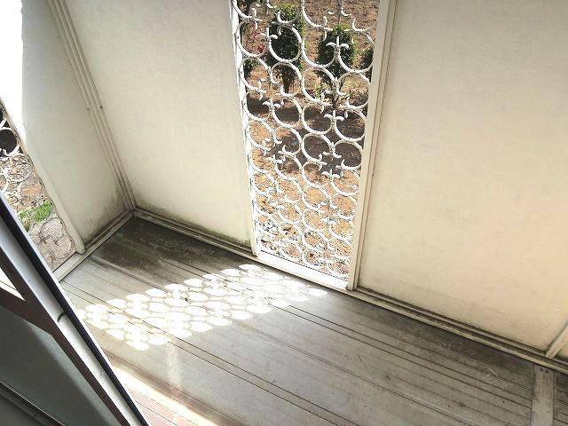 レジデンス・K・Two 01010号室のバルコニー