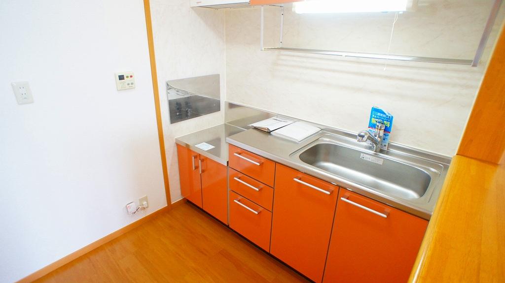 ラインロマンツェ 02030号室のキッチン