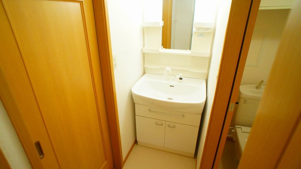 ラインロマンツェ 02030号室の洗面所