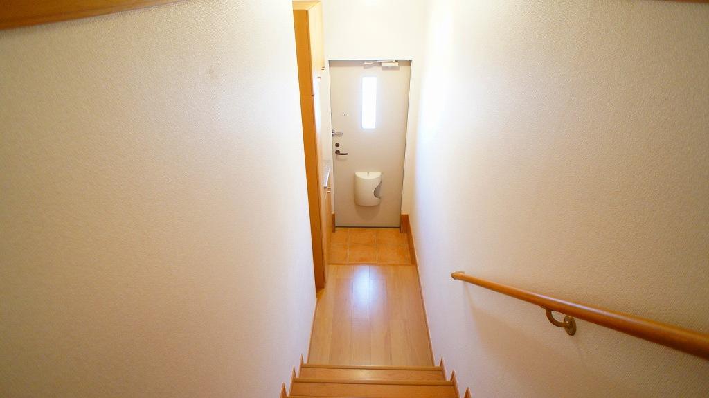 ラインロマンツェ 02030号室の玄関