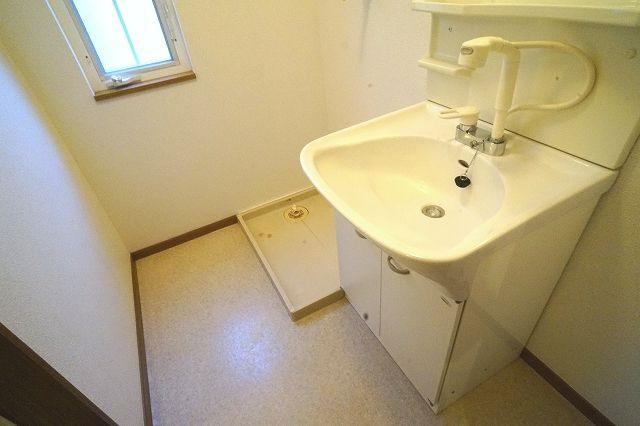 メゾン リュエル Ⅰ 01010号室の洗面所