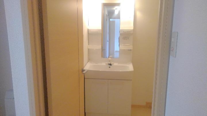 プランタン小島B 02020号室の洗面所