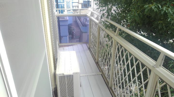 プランタン小島B 02020号室のバルコニー