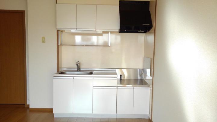 エテ・サンバティ-ク 02020号室のキッチン