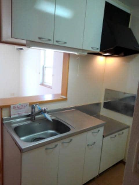 メリオル カザ A 01030号室のキッチン