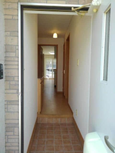 メリオル カザ A 01030号室の玄関