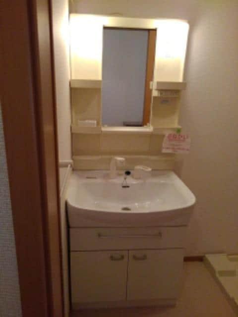 メリオル カザ A 01030号室の洗面所