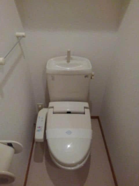 メリオル カザ A 01030号室のトイレ