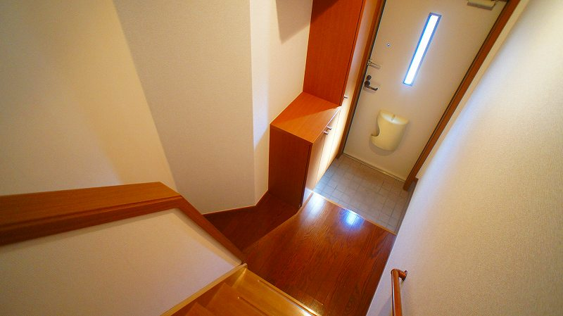 キャッスルハイツ 02020号室の玄関