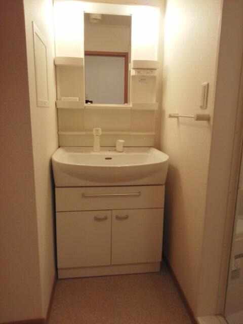 クレーストⅠ 02020号室の洗面所