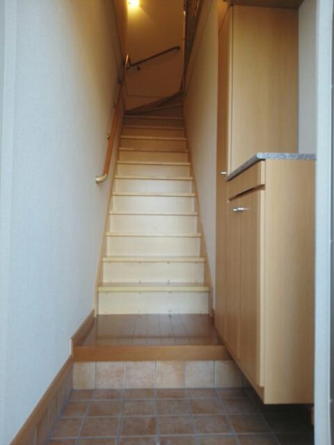 クレーストⅠ 02020号室の玄関