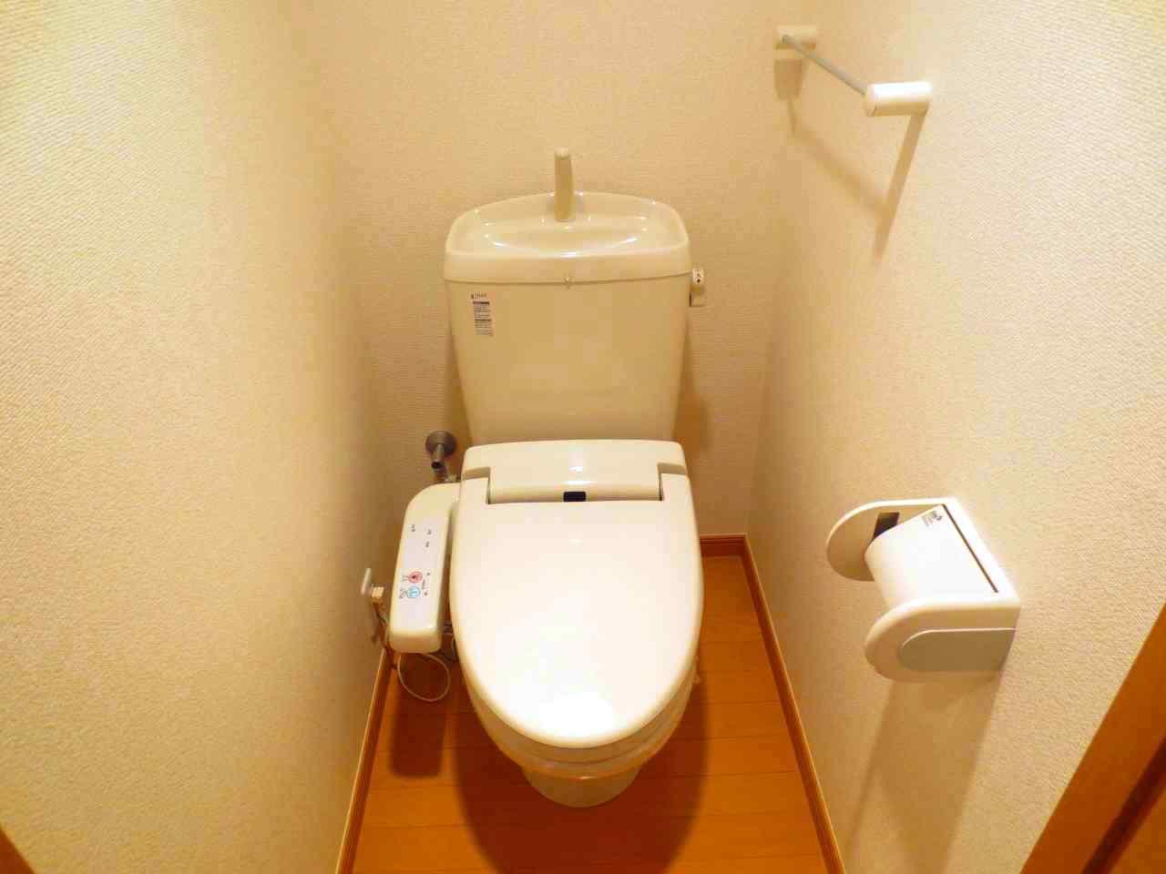 キューズルミエールB 01040号室のトイレ