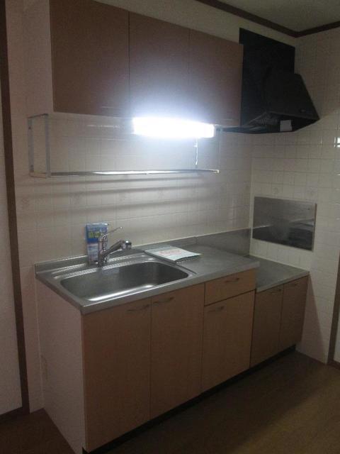 メゾンリュミエ-ルB 01010号室のキッチン