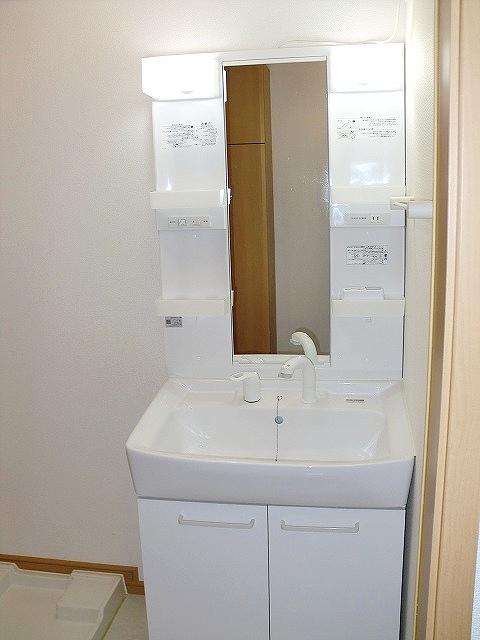 ボヌール・キャトルズ 01010号室の洗面所