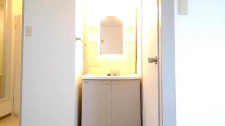 ビューテラスⅡ 02040号室の洗面所