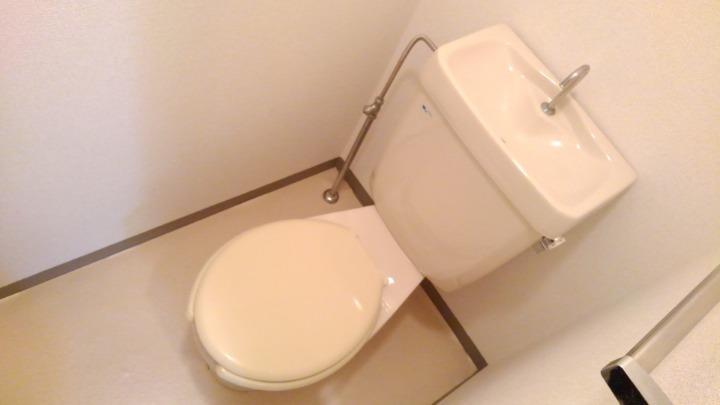 ビューテラスⅡ 02040号室のトイレ