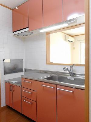 Belle Maison 桜 02010号室のキッチン