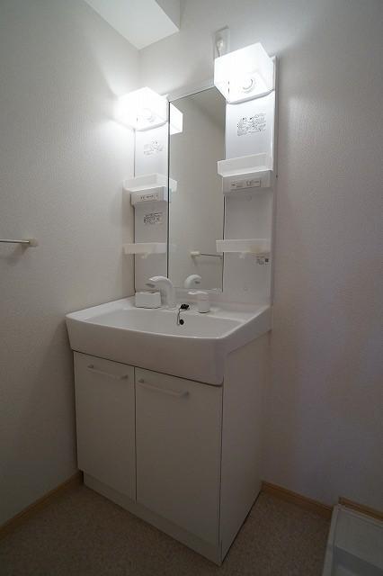 カンフォタブル リヴK Ⅰ 01020号室の洗面所