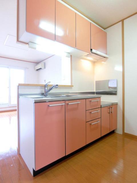 ウロジンゼⅡ 02010号室のキッチン