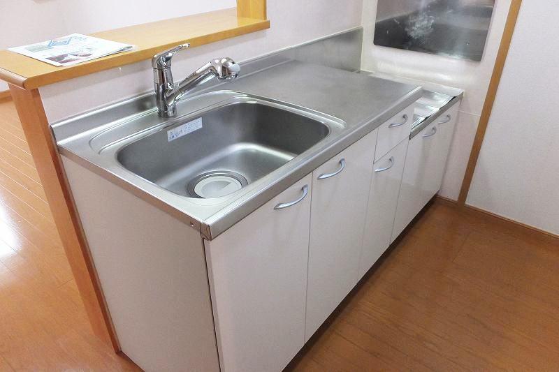 モダンアロッジオ 02020号室のキッチン