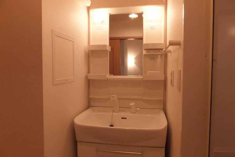 モダンアロッジオ 02020号室の洗面所