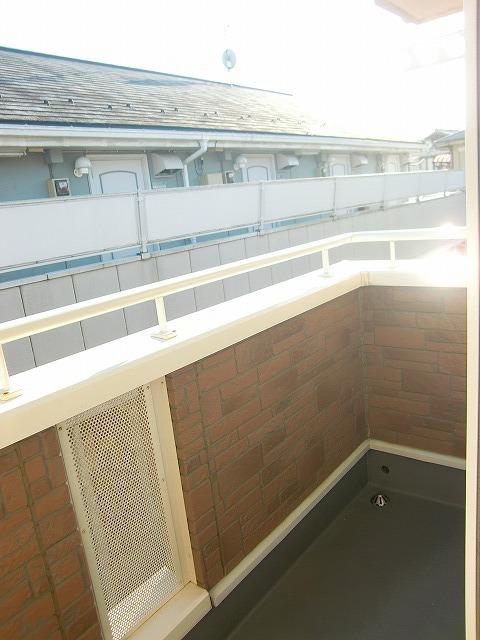 モダンアロッジオ 02020号室のバルコニー