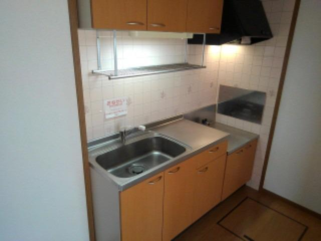 サンライズC 01020号室のキッチン