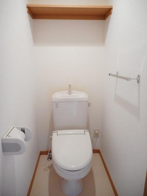 サンフラワーB 01010号室のトイレ
