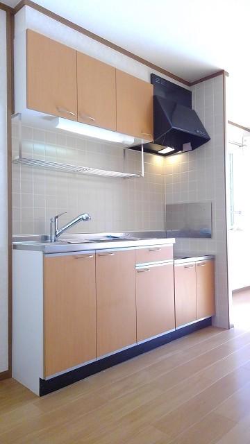 ウエスト 21 02010号室のキッチン