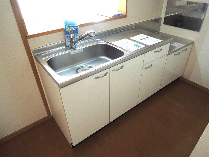 プロムナ-ド ロ-ズ 02030号室のキッチン