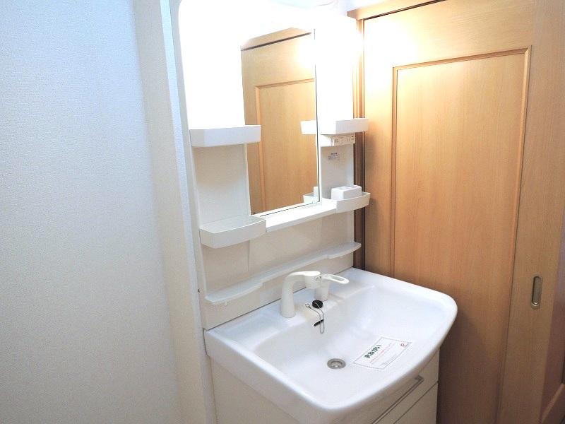 プロムナ-ド ロ-ズ 02030号室の洗面所